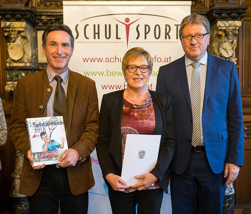 Sport – Ehrenpreis für die NMS Straß