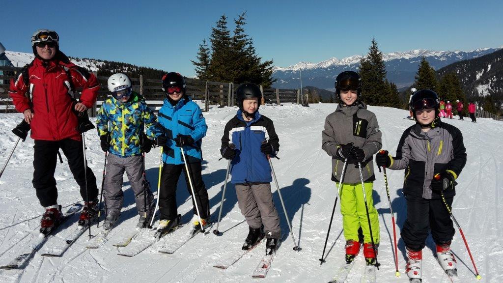 Traumhafter Skitag der 1a Sportklasse!