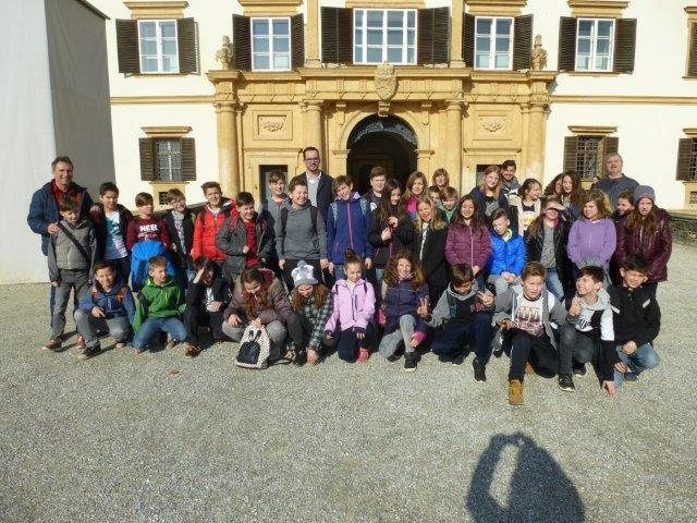 Museumstag der 1. Klassen