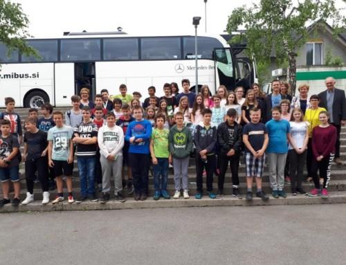 Gelebte slowenisch-österreichische Schulpartnerschaft