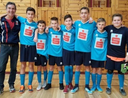 Toller Erfolg für die Futsalspieler der NMS Straß!
