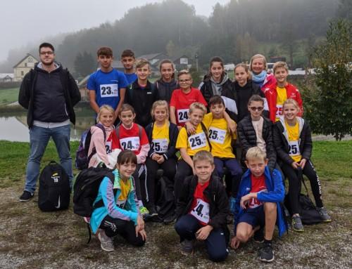 2. Platz für die NMS Straß bei der Bezirksmeisterschaft im Crosslauf
